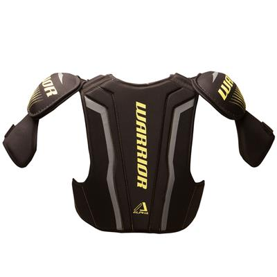 Alpha QX4 Shoulder Pad - Back View (Warrior Alpha QX4 Hockey Shoulder Pads - Senior)