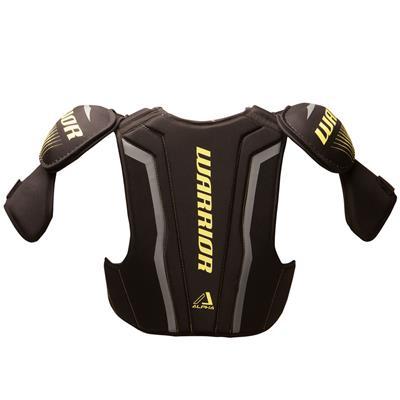 Alpha QX4 Shoulder Pad - Back View (Warrior Alpha QX4 Hockey Shoulder Pads - Junior)