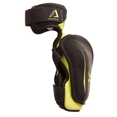 Alpha QX5 Elbow Pad - Right View (Warrior Alpha QX5 Elbow Pads)
