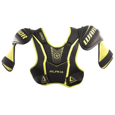 Alpha QX5 Shoulder Pad - Front View (Warrior Alpha QX5 Hockey Shoulder Pads)