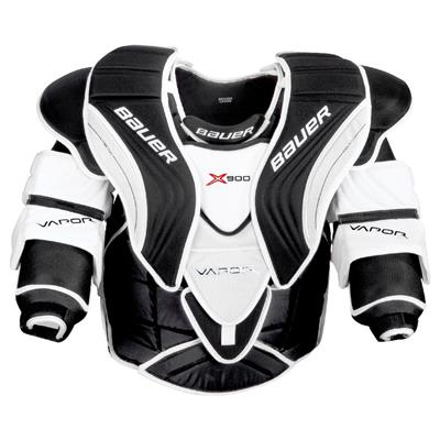 Vapor X900 Goal Chest Pad (Bauer Vapor X900 Goalie Chest And Arm Protector - Intermediate)
