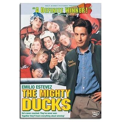 Front (D1: The Mighty Ducks DVD)