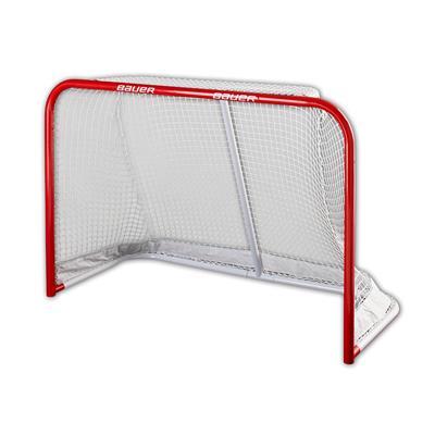 Deluxe Steel Goal (Bauer Deluxe Steel Hockey Goal - 6' x 4')