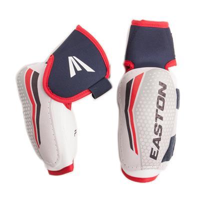 Pro 7 Hard Elbow Pads (Easton Pro 7 Hockey Elbow Pads - Hard Cap)