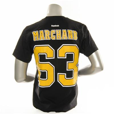 Reebok Brad Marchand #63 Tee (Reebok Brad Marchand #63 Tee - Mens)