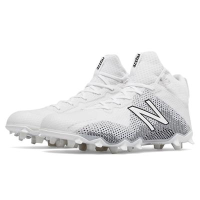 White (New Balance Freeze Mid-Cleat - White)
