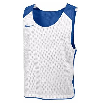 Royal/White (Nike Mens Reversible Mesh Tank)