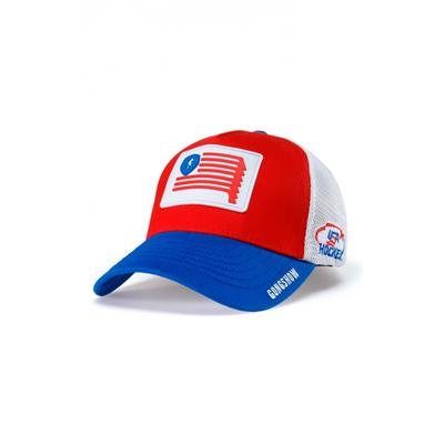 Gongshow Star Dangled Stripes Hat (Gongshow Star Dangled Stripes Hockey Hat)