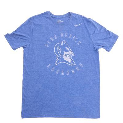 Nike Tri Blend Duke Lacrosse SS Tee (Nike Tri Blend Duke Lacrosse SS Tee)