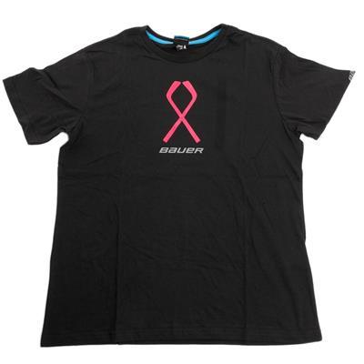 Bauer Pink Ribbon Tee (Bauer M Pink Ribbon Hockey Shirt)