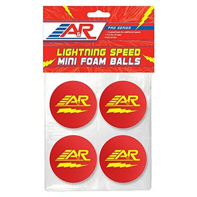 A&R Lightning Speed Mini Balls (A&R Lightning Speed Mini Hockey Balls - 4 Pack)