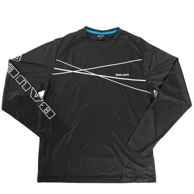 Athletic LS Tee (Bauer Athletic Long Sleeve Hockey Shirt)
