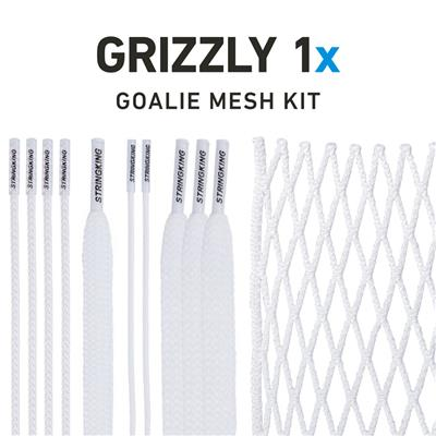 Grizzly Goalie Mesh Kit (StringKing Grizzly 1x Goalie Mesh Kit)