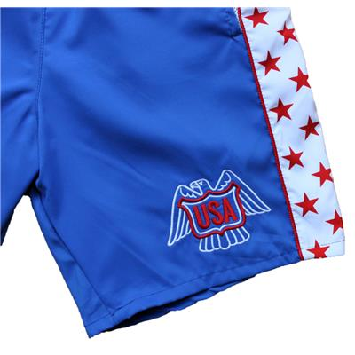 1976 USA HOCKEY SHORTS (1976 USA Hockey Shorts - Mens)