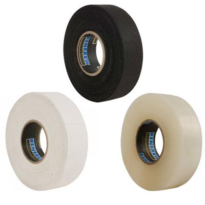 Renfrew 12 Pack Tape (Renfrew Hockey Tape 12 Pack - 6 White/2Black/4Clear)