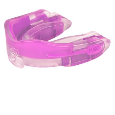 MOGO M1 Mouthguard 2 Pack (MOGO Sport M1 Flavored Mouthguard 2 pack w/Case - Cool Mint - Senior)