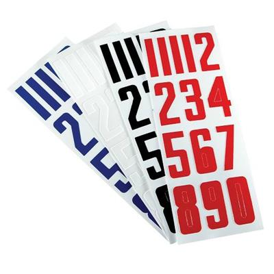 Bauer Helmet Numbers (Bauer PB HELMET NUMBERS)
