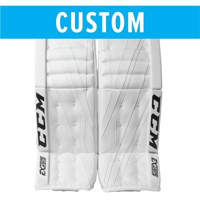 (CCM Custom Extreme Flex III Goalie Leg Pads - Intermediate)