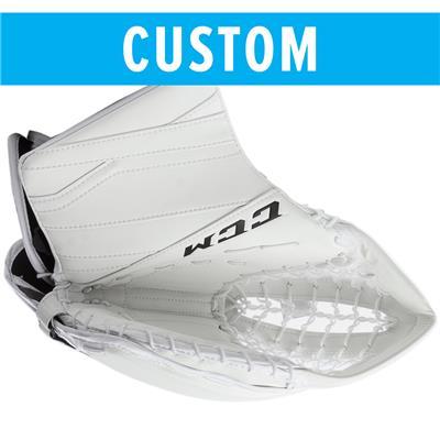 (CCM Custom Extreme Flex III Goalie Catch Glove - Intermediate)