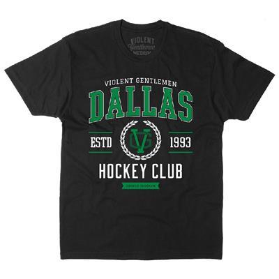 Dallas Hockey Club Tee (Violent Gentlemen Dallas Hockey Club Tee)