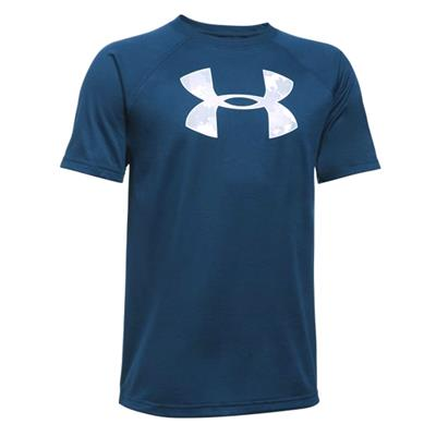 Tech Big Logo SS Tee (Under Armour Tech Big Logo SS Tee)
