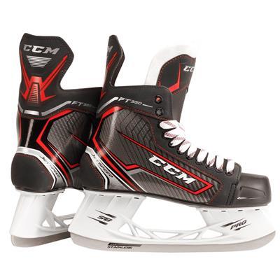 Jetspeed FT350 Ice Skate 2017 (CCM JetSpeed FT350 Ice Hockey Skates - Junior)