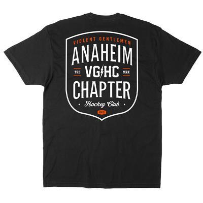 Anaheim Chapter HC Tee (Violent Gentlemen Anaheim Chapter HC Tee Shirt)