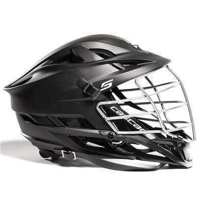 S Helmet Matte Chrome (Cascade S Helmet Matte Shell w/ Chrome Cage)