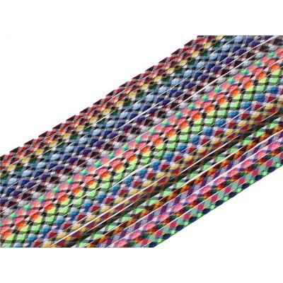"""Jimalax Tri Colored Shooting lace (Jimalax 3-Pk Tri Colored 33"""" Shooting Lace)"""