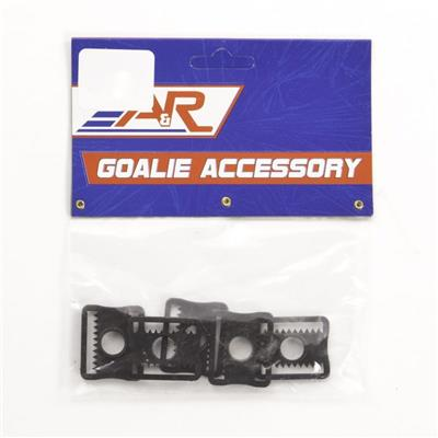 GOALIE HELMET CLIP 5 PACK (A&R Hockey Goalie Helmet Clips - 5 Pack)
