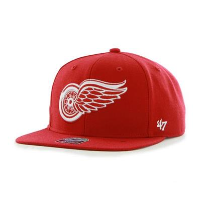 47 Brand Sure Shot Hat (47 Brand Red Wings Sure Shot Hockey Hat)
