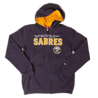 Reebok NHL Stated Full Zip Hooded Sweatshirt (Reebok Stated Full Zip Hoody - Youth)
