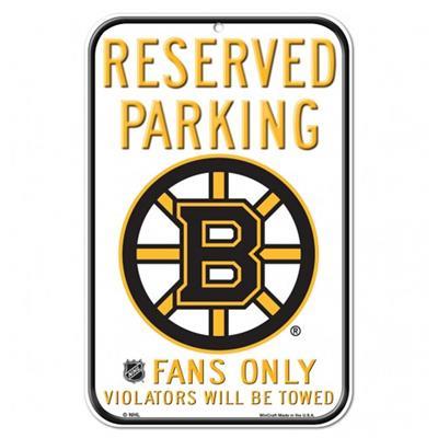 Bruins Reserved Parking Sign (Wincraft Bruins Reserved Parking Sign)