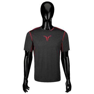Bauer Core Hybrid Top (Bauer Core Short Sleeve Hybrid Hockey Shirt - 2017 - Youth)