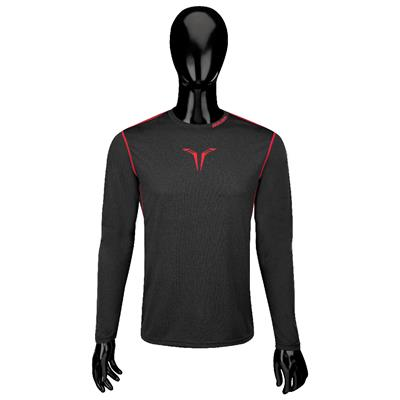 Bauer Core Long Sleeve Top (Bauer Core Long Sleeve Hybrid Hockey Shirt - 2017 - Adult)