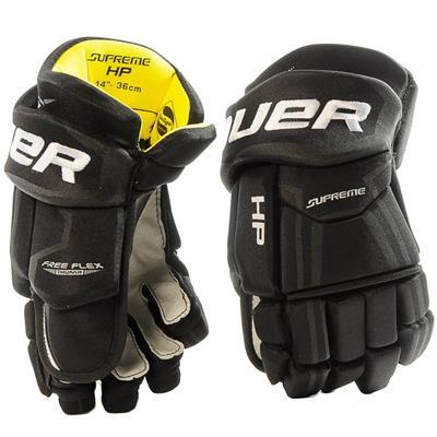 Black (Bauer Supreme HP Hockey Gloves - 2017)