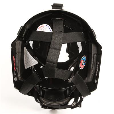 1.9 Certified Goal Mask - Back View (CCM 1.9 Certified Goalie Mask - Senior)