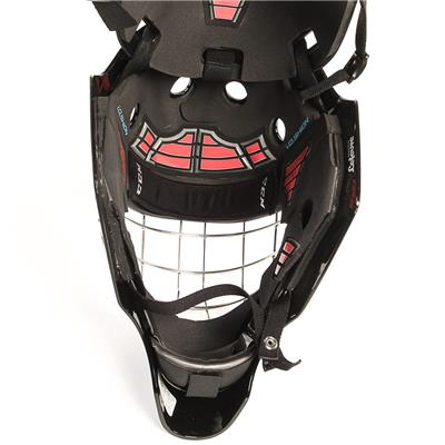 1.9 Certified Goal Mask - Inside View (CCM 1.9 Certified Goalie Mask - Senior)