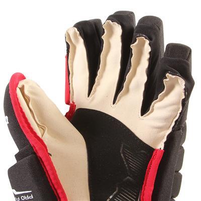4R Lite Gloves (2017) - Palm View (CCM 4R Lite Hockey Gloves - Junior)