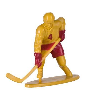 Yellow Team Player (Kaskey Kids Hockey Guys Toy Figurine Set)