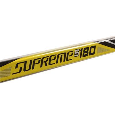 Supreme S180 Grip Stick 2017 (Bauer Supreme S180 Grip Composite Hockey Stick 2017 - Junior)