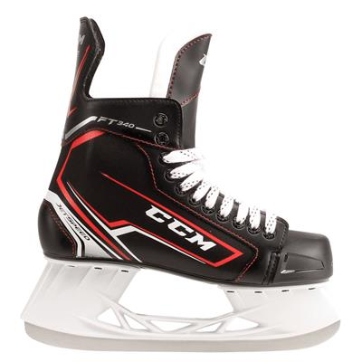 Jetspeed FT340 Ice Skate 2017 - Side View (CCM JetSpeed FT340 Ice Hockey Skates)