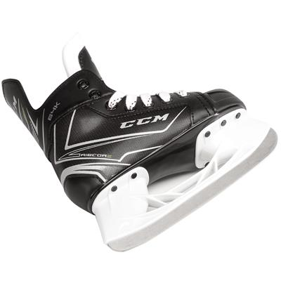Ribcor 64K Ice Skate 2017 - Runner/Steel View (CCM Ribcor 64K Ice Hockey Skates - Youth)