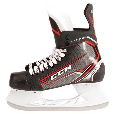 Jetspeed FT350 Ice Skate 2017 - Side View (CCM JetSpeed FT350 Ice Hockey Skates - Junior)