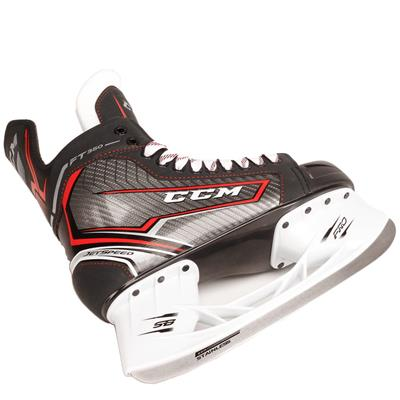 Jetspeed FT350 Ice Skate 2017 - Blade (CCM JetSpeed FT350 Ice Hockey Skates - Junior)