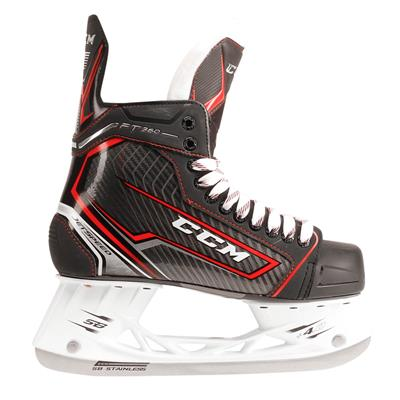 Jetspeed FT360 Ice Skate 2017 - Side View (CCM JetSpeed FT360 Ice Hockey Skates - Youth)