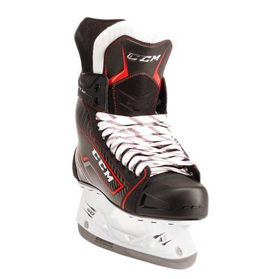 Jetspeed FT360 Ice Skate 2017 - Front Angle (CCM JetSpeed FT360 Ice Hockey Skates - Youth)