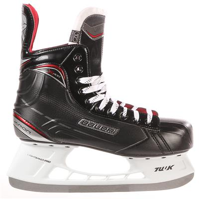 S17 Vapor X400 Ice Skate - Side View (Bauer Vapor X400 Ice Hockey Skates - 2017 - Junior)