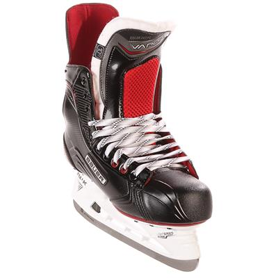 S17 Vapor X500 Ice Skate - Front Angle (Bauer Vapor X500 Ice Hockey Skates - 2017 - Junior)