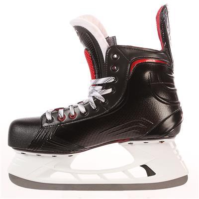 S17 Vapor X600 Ice Skate - Side View (Bauer Vapor X600 Ice Hockey Skates - 2017)